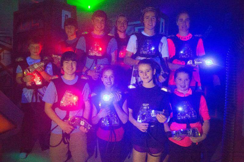 Intergalactic Indoor Laser Tag: Fun for All Ages